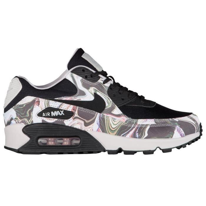 super popular 281a5 f926c BASKET Nike chaussures de course en cuir air max 90 pour