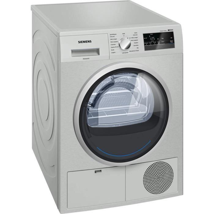 sèche-linge pompe à chaleur siemens wt45h2x0ff - achat / vente