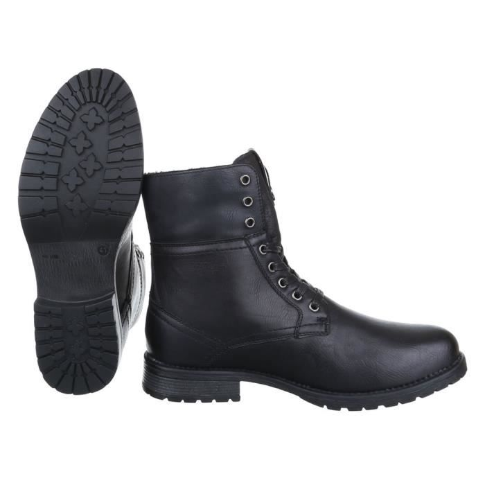 homme Boots chaussure Brogues Boots bwoMknZe