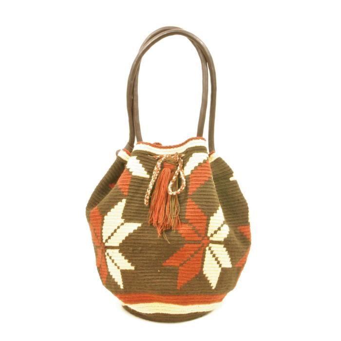 Seasalt Wayuu main avec poignées en cuir Mochila WL11 YKE8R