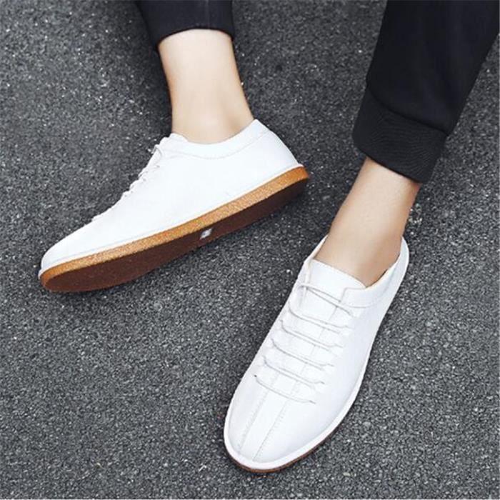 cuir Sneakers Grande Marque Taille De chaussure Nouvelle Confortable 44 homme 2017 Luxe Mode hommes Respirant De 39 Sneaker 6Cw0qvEv