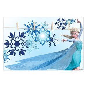 PÊLE-MÊLE PHOTO ELSA Reine des neiges Pêle-mêle déco 50x35 cm bleu