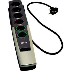 MULTIPRISE Multiprise parafoudre télécommandée OTIO MPT-8009