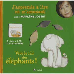 Livre 3-6 ANS Vive le roi des éléphants !