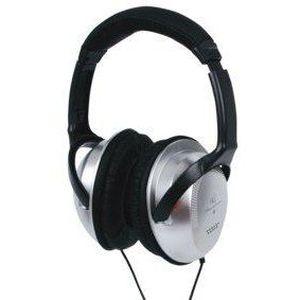 HQ HQ-HP137HF Casque audio - Jack 3,5 mm - Argent/Noir