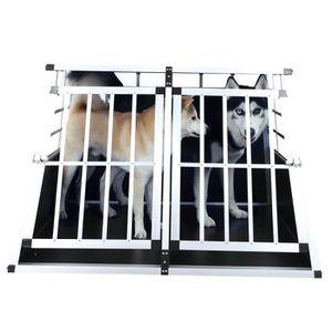CAGE Cage pour chien 89*69*50cm grande cage à double po