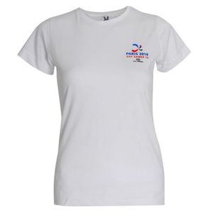 T-SHIRT T-shirt femme logo Evénement sportif Gay Games L A