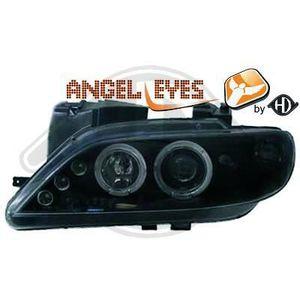 PHARES - OPTIQUES 4070580 ,  Paire de Feux Phares  Angel eyes  noir