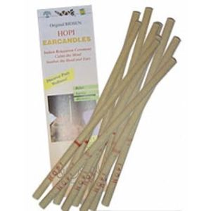 BOUGIE DÉCORATIVE Biosun traditionnelle Paire 5 bougies auriculaires