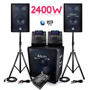 PACK SONO PACK Sono Complet BMS-1812 2400W SUB 46cm Enceinte