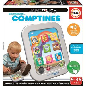 TABLETTE ENFANT EDUCA Touch Compact Baby Comptines