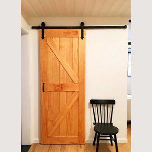 ARMOIRE DE CHAMBRE iKayaa 6FT Kit de quincaillerie pour portes coulis