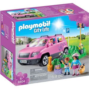 FIGURINE - PERSONNAGE PLAYMOBIL 9404 - City Life - Voiture familiale - N