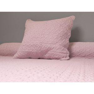 jete de lit boutis soleil docre couvre lit boutis 220x240cm rose 2 - Couvre Lit Boutis