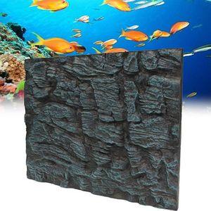 DÉCO ARTIFICIELLE TEMPSA 3D Aquarium Plaque Fond Background Backdrop