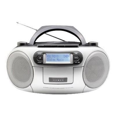 SOUNDMASTER SCD7900SW Radio DAB + Boombox CD / MP3 et cassette - Noir