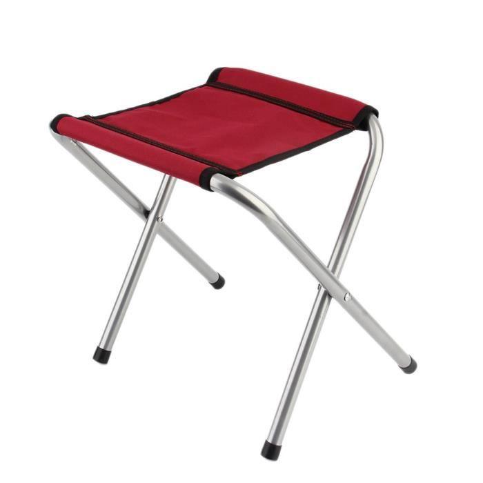 CHAISE DE CAMPING Mini Chaise Pliante Sige Tabouret Pliable Lger P
