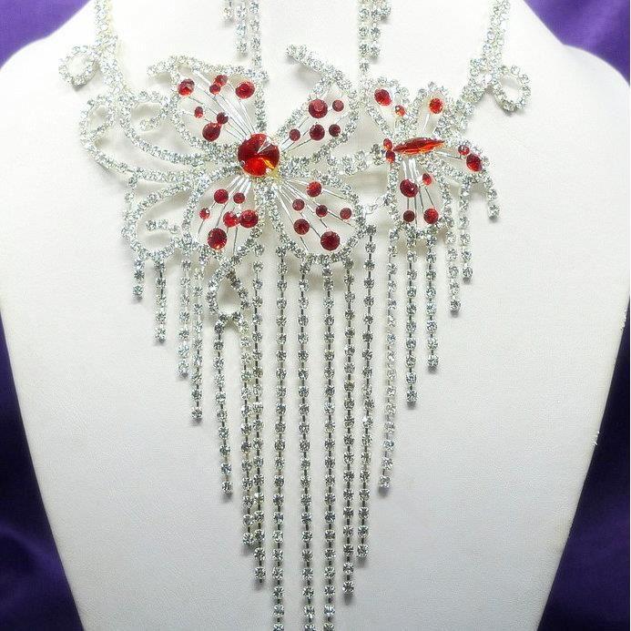 Papillon Parure de bijoux mariage