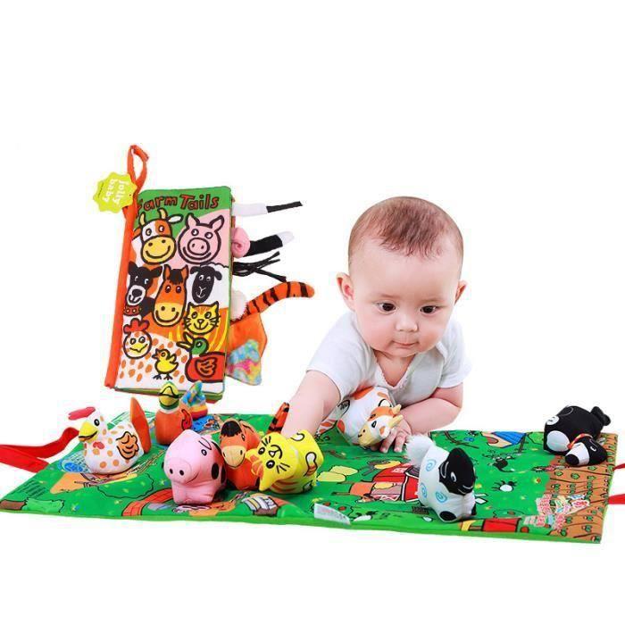 Livres En Tissu De L Education Precoce En Trois Dimensions 6 12 Mois Bebe 0 1 3 Ans Jouets Pour Les Enfants