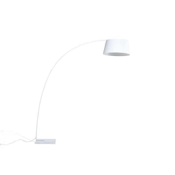 lampadaire design luminaire lampe de salon blanc. Black Bedroom Furniture Sets. Home Design Ideas