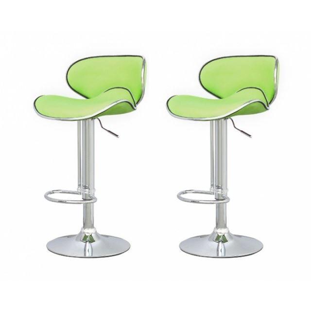 Tabouret De Bar Vert Anis tabouret de bar vert x2 elite - achat / vente tabouret de bar