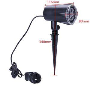 Projecteur exterieur noel floconc blanc achat vente projecteur exterieur noel floconc blanc for Projecteur laser neige