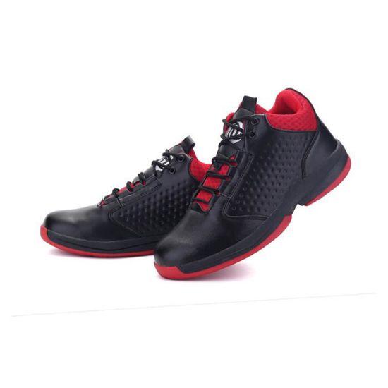 Baskets Homme Chaussure été et hiver Jogging Sport léger Respirant Chaussures BLLT-XZ223Rouge39 GMo1lNY