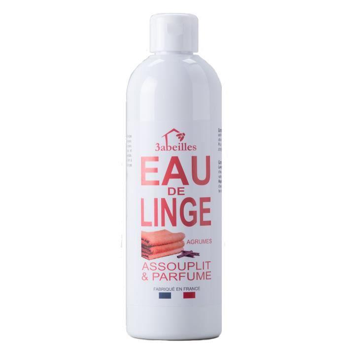 3 ABEILLES Eau de linge - Agrumes - Bio - 500 ml