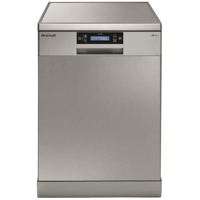 BRANDT DFH14104X - Lave-vaisselle posable - 14 couverts - 44dB - A+++ - Larg. 60cm
