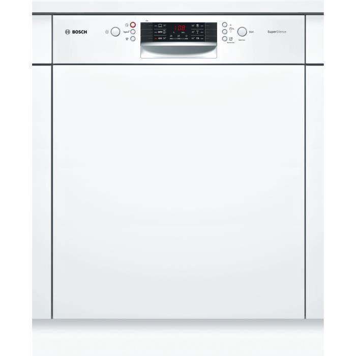 bosch smi46aw04e - lave vaisselle encastrable - 12 couverts - 44db
