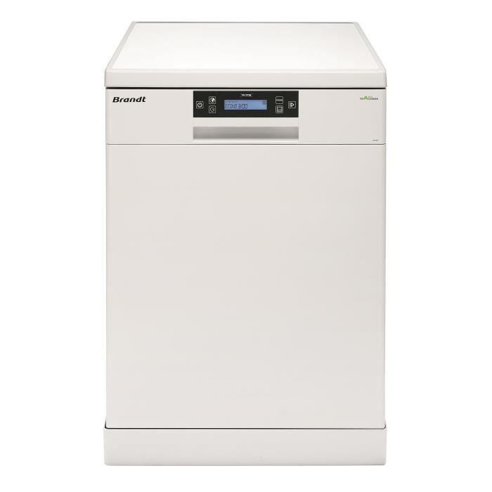 Brandt dfh14104w lave vaisselle posable 14 couverts 44db a larg - Lave vaisselle 14 couverts ...