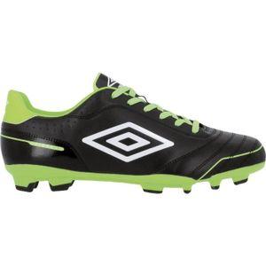 UMBRO Chaussures de Foot pour terrain sec enfant Classico FG AH15 - Noir