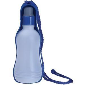 MPETS Bouteille d'eau - Pour chien - 500ml - Bleu