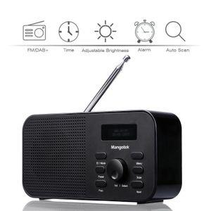 RADIO CD CASSETTE DAB Radio Numérique Stéréo Mangotek RFA-DAB001 Por