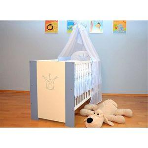 BERCEAU ET SUPPORT Berceau bébé lit bébé 120 x 60 cm avec Matelas Som