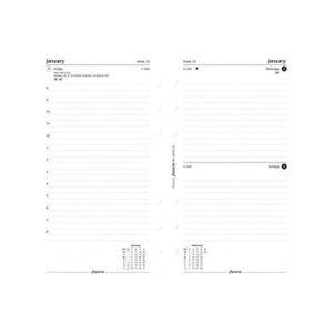 AGENDA - ORGANISEUR Filofax Recharge pour agenda 2017 1 jour par page
