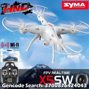 DRONE X5SW Syma WIFI avec caméra HD et retour FPV - Dron