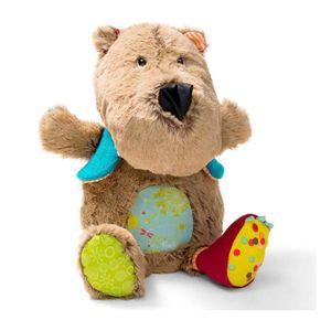 PELUCHE Peluche musicale et lumineuse : César l'ours brun