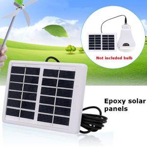 KIT PHOTOVOLTAIQUE LAVENT Panneau solaire Si polycristallin 6V 1.2W p