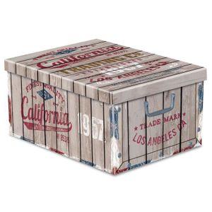 boite de rangement carton avec couvercle achat vente boite de rangement carton avec. Black Bedroom Furniture Sets. Home Design Ideas