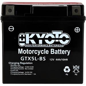 BATTERIE VÉHICULE KYOTO - Batterie moto - Ytx5l-bs - L114mm W71mm H