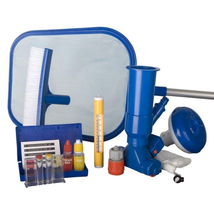 GRE Kit de nettoyage pour piscine - 7 pièces