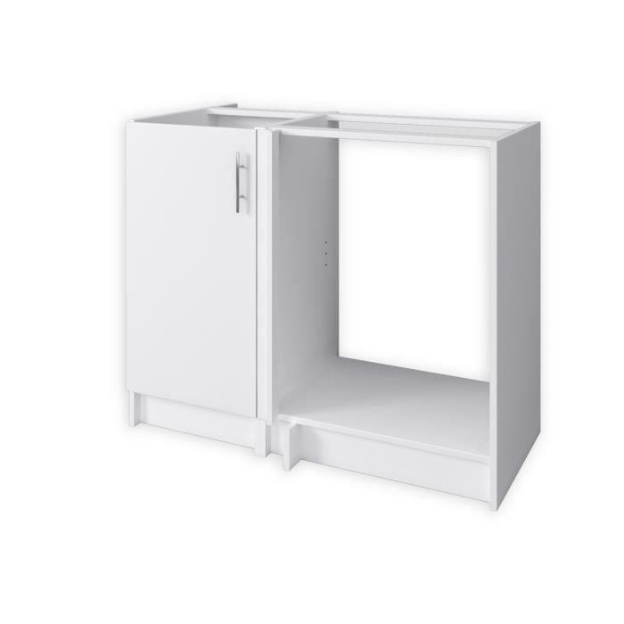 caisson avec tiroirs blanc cuisine achat vente pas cher. Black Bedroom Furniture Sets. Home Design Ideas