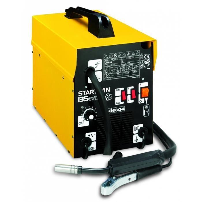 DECA Poste à souder MIG Gaz/No Gaz semi automatique STARWIN 135 EVO - 1,5 kW - 120 A