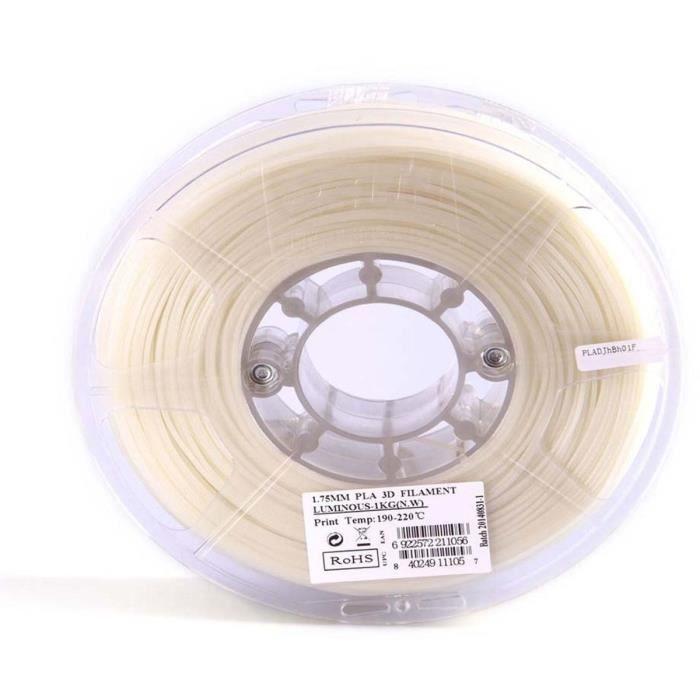 ESUN Filament pour Imprimante 3D PLA ESUN - Phosphorescent Vert - 3 mm - 1kg