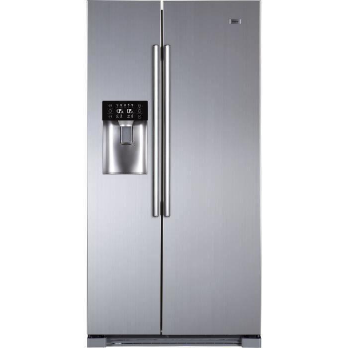 HAIER HRA-I2S - Réfrigérateur Américain - 540L (369+171) - Total No Frost - A+ - L90.8 x H179 cm - I