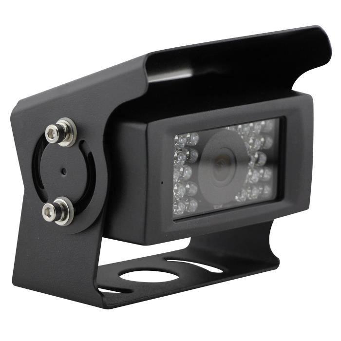 INOVTECH Caméra de recul filaire - Modèle 28 - LEDS - Noir