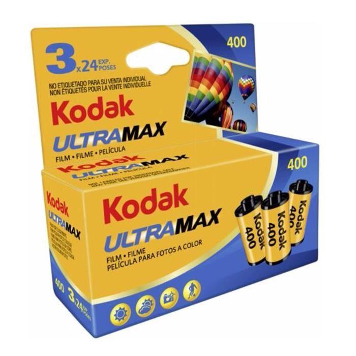 KODAK 460334052 ULTRAMAX Pellicule 135/3X24 poses - Spécial pack Blister