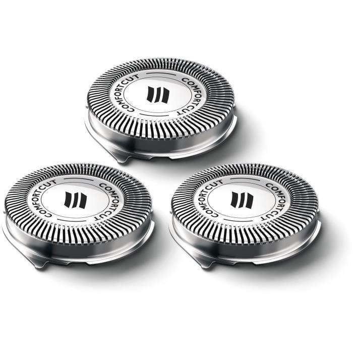 PHILIPS SH30/50 - Accessoires rasoir Series 1000 et 3000 - 3 têtes de rasage