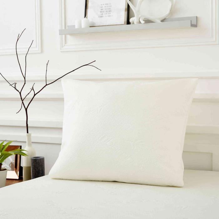 SWEET NIGHT Oreiller Bamboo 60 x 60cm
